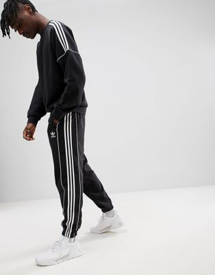adidas Originals Nova Retro Joggers In Black CE4809