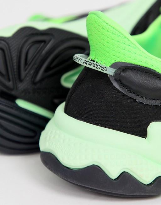 adidas Originals Ozweego Baskets Vert solaire