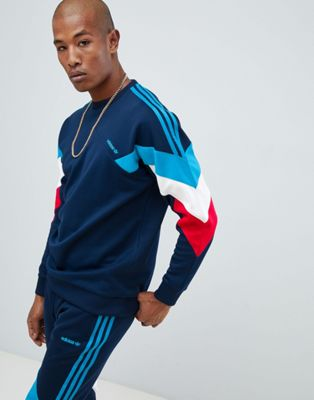 adidas Originals Palmerston Sweat In Navy DJ3454