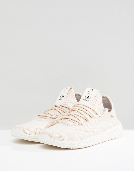 hot sale well known discount adidas Originals Pharrell Williams Tennis Hu Sneakers In Beige