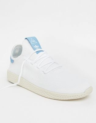 adidas Originals Pharrell Williams Tennis HU Trainers In White CQ2167