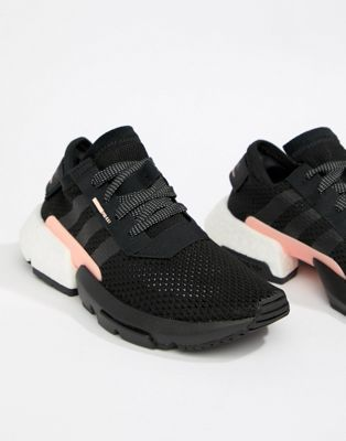 Image 1 of adidas Originals Pod-S3.1 Sneakers In Black And Pink