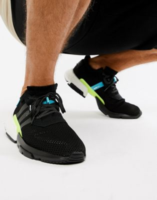 adidas Originals POD-S3.1 Sneakers In Black AQ1059