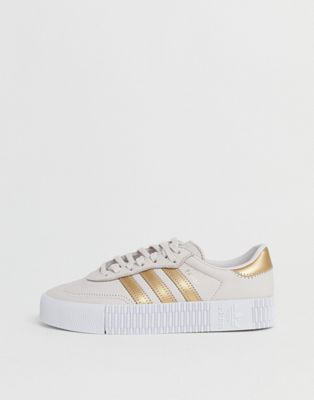 adidas Originals Samba Rose trainers in rose gold