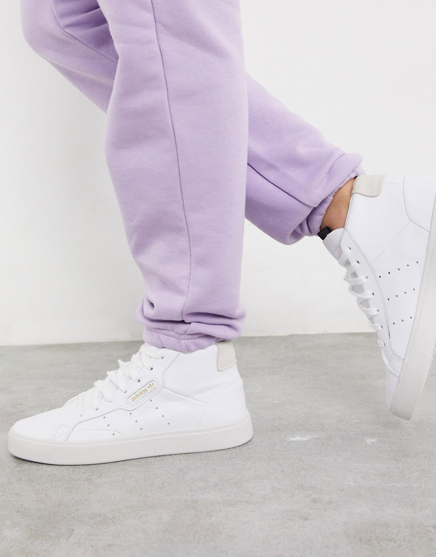 adidas originals -  – Schicke, knöchelhohe Sneaker in Weiß und Grau