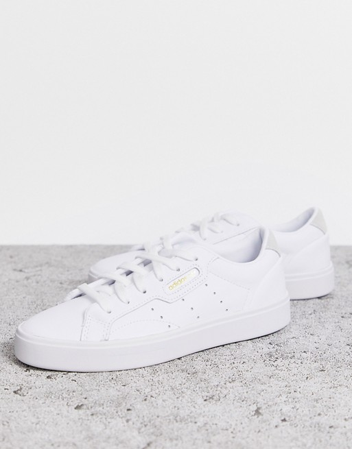 Copiar Directamente quemado  adidas Originals Sleek sneakers in white | ASOS