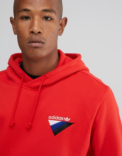 adidas Originals St Petersburg Pack Anichkov Hoodie Rouge BS2196