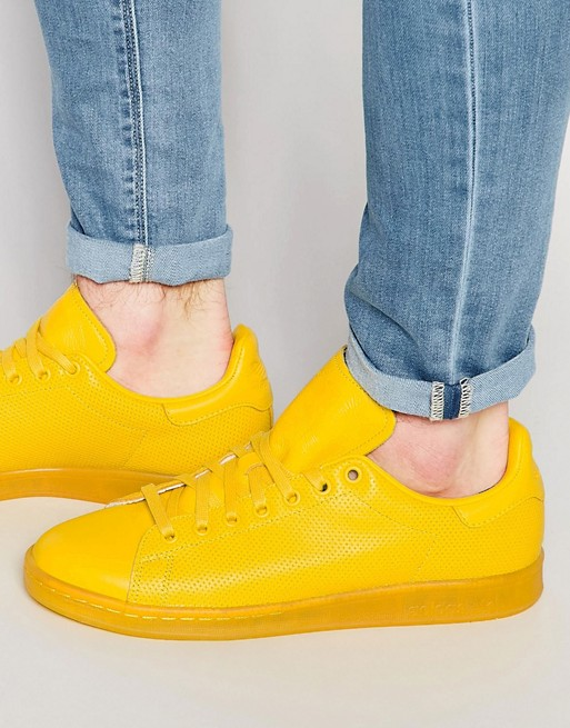 adidas Originals Stan Smith adicolor Trainers In Yellow S80247