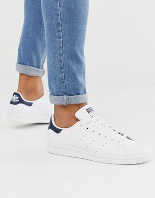 adidas Originals Stan Smith Leather Trainers In White M20325