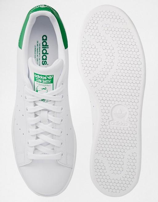 Adidas originals stan smith m20324 scarpe da ginnastica di pelle bianche bianco asos neri pelle