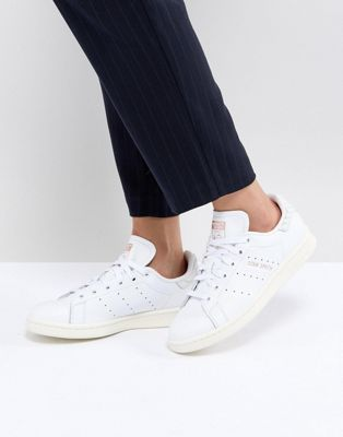 adidas Originals Stan Smith Trainers With Reptile Back Counter