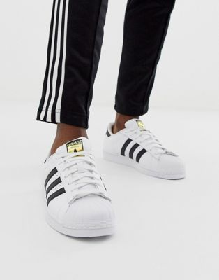 adidas Originals Superstar Trainers In White C77124