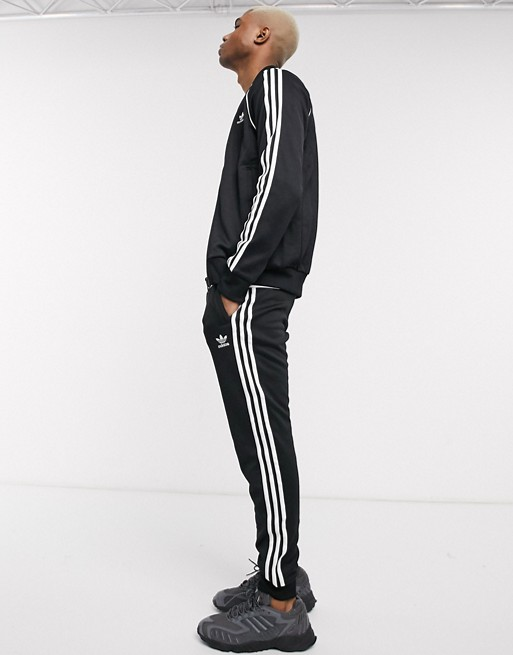 Adidas Originals – Superstar – Trainingsjacke In Schwarz by Asos