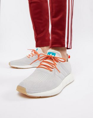 adidas Originals Swift Run Summer Sneakers In White CQ3085