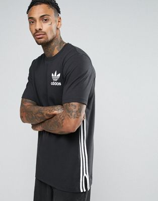Adidas Originals - T-shirt long - Noir BP8876