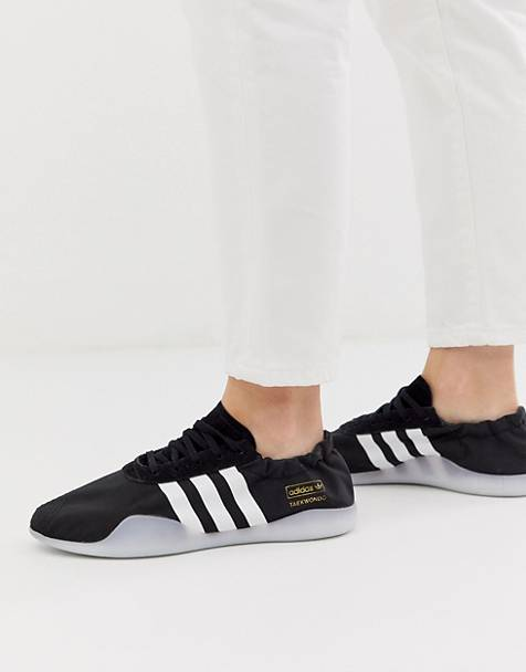 adidas Originals Taekwondo Team sneaker in black