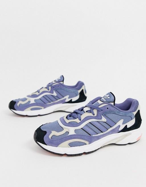 Bild 1 von adidas Originals – Temper Run G27919 – Blaue Sneaker