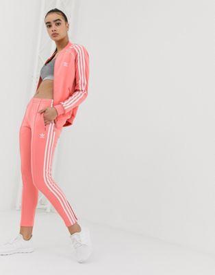 Image 1 of adidas Originals track sweatpants in pink
