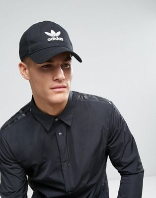 adidas Originals Trefoil Cap In Black BK7277