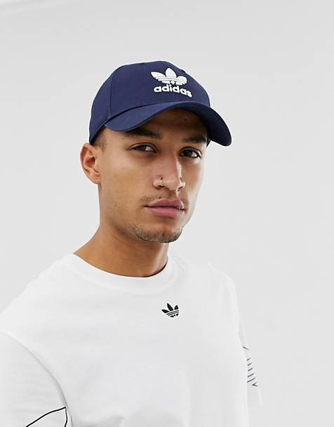 adidas Originals Trefoil Cap in navy