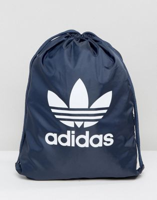adidas Originals Trefoil DRAWSTRING In Navy BK6727