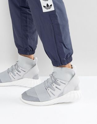 adidas Originals Tubular Doom Winter Trainers In Grey BY8701