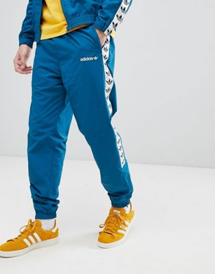 adidas Originals Vintage Joggers With Taped Side Stripe In Blue CE4824