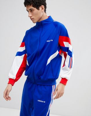adidas Originals Vintage Track Jacket In Blue CE4828