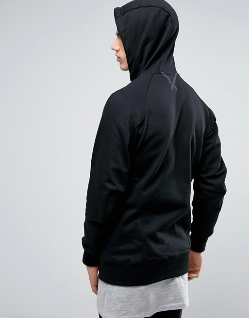 adidas Originals X By O Zip up Hoodie In Black BQ3092