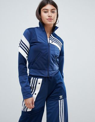 adidas Originals X Danielle Cathari Deconstructed Track Top In Navy
