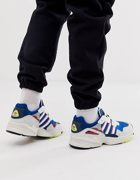 adidas Originals yung-96 sneakers in blue