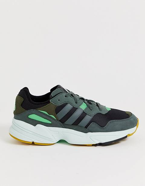 adidas Originals Yung-96 sneakers in gray