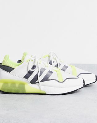 adidas Originals ZX 2K Boost Pure trainers in yellow - ASOS Price Checker