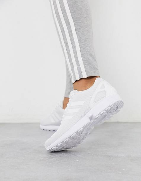 adidas Originals ZX Flux in white