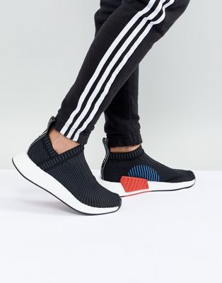 adidas Orignals NMD Cs2 Trainers In Black HLD