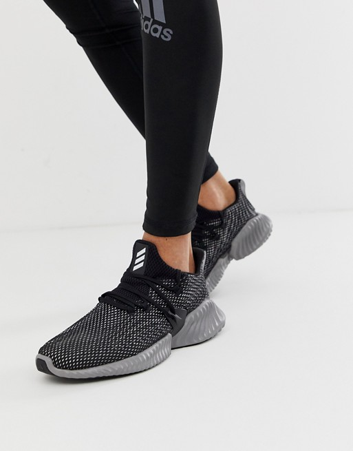 adidas performance Alphabounce Instinct sneakers in black