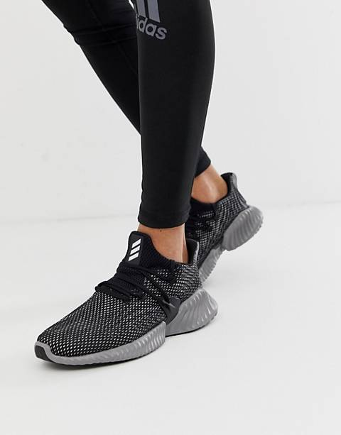 Adidas Running Alphabounce Instinct sneakers in black