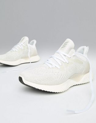 adidas Running Alphabounce Sneakers In White