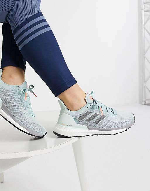 adidas Running - Solar Boost - Sneakers verdi