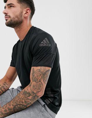 adidas - T-shirt de course 25/7 - Noir