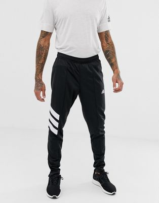 adidas Tango Football Skinny Joggers In Black AZ9709
