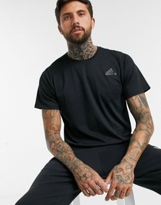 adidas Training t-shirt in black
