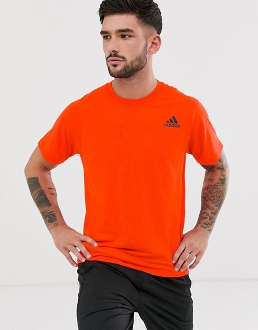 adidas Training - T-shirt - Orange
