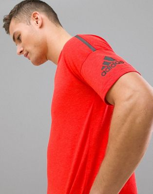adidas ZNE 2 T-Shirt In Red CG2183