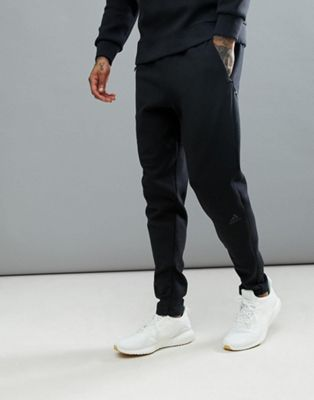 adidas ZNE Striker Joggers In Black BQ7042