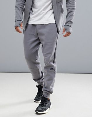adidas ZNE Striker Joggers In Grey CW0867
