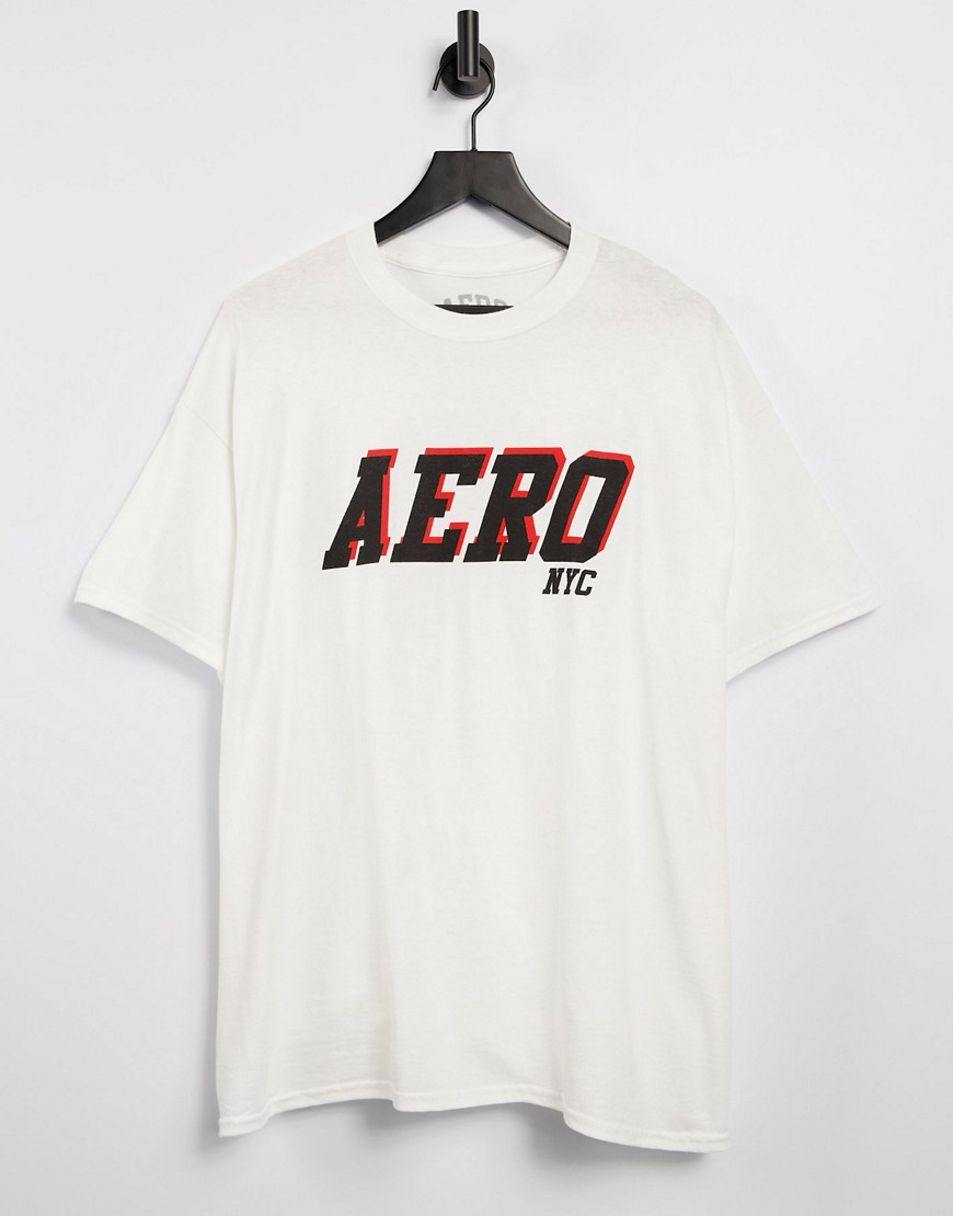 aero 3-D NYC t-shirt-White