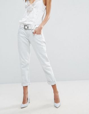 AGOLDE Isabel Slim Fit Boyfriend Jean