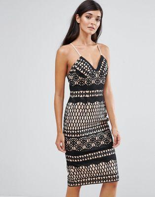 Aijek - Kanten bodycon-jurk