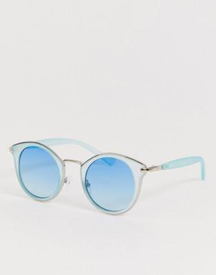 AJ Morgan - Lunettes de soleil rondes - Bleu